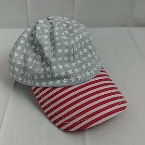 Anna & Ava stars and stripes baseball style hat